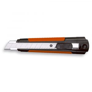 Hobbykniv også kaldet cutterkniv. Med blade til afbrækning