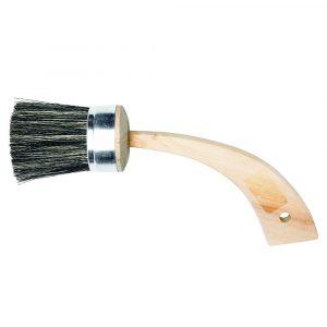 Hornsuger pensel med grove naturhår