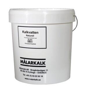 Målarkalk kalkvand i spand á 20 liter