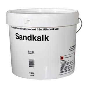 Målarkalk Sandkalk i spand á 13 liter