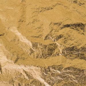 Bladmetal guld antik transferark