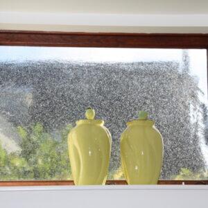 Restauro mundblæst vinduesglas speciel