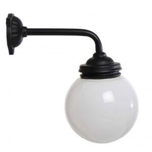 Gårdlampe kort lige arm 90