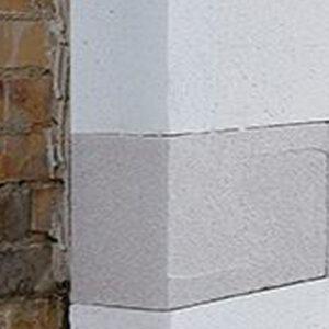 Multipor plade til isopore isoleringssystem med kalkmørtel