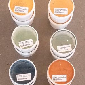 farveprøver kalkmaling