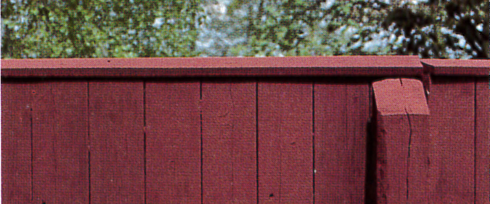 Maling med svensk slamfarve
