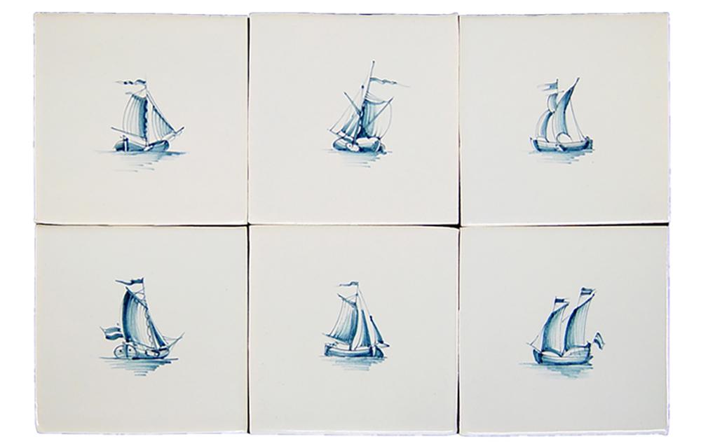 smaa-skibe-haandmalede-hollandske-fliser