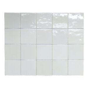 Hvide hollandske fliser 13x13 TW1