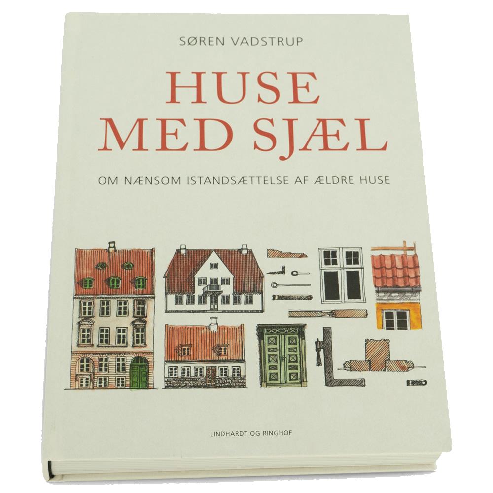 Bog Huse med Sjæl af Søren Vadstrup. Genudgivet 2020