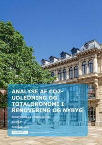 Rambøll rapport om analyse af CO2 udledning ved renovering og nybyg
