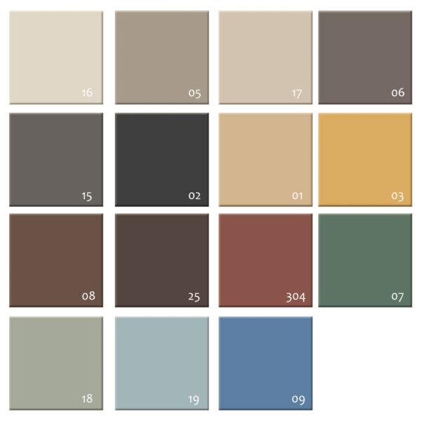 gulvflise-hårdtbrændt-keramisk-15-farver-nummereret