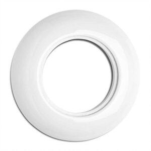 Porcelænsramme til stikkontakt eller afbryder